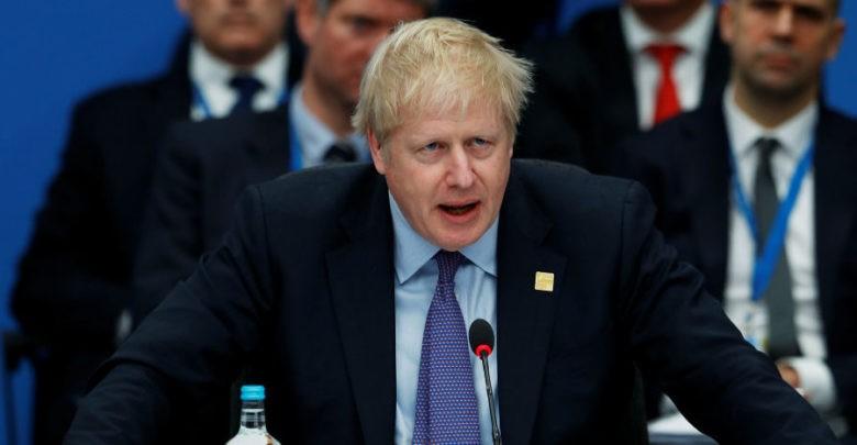 Boris Johnson llama a la unidad en el aniversario 70 de la OTAN