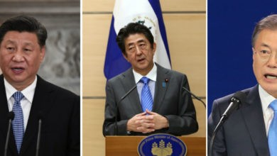 Líderes de China, Japón y Corea del Sur celebrarán cumbre tripartita