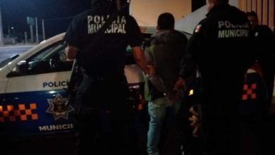 Narcomenudista protagoniza persecución policiaca, lo detienen con droga, en San Juan del Río
