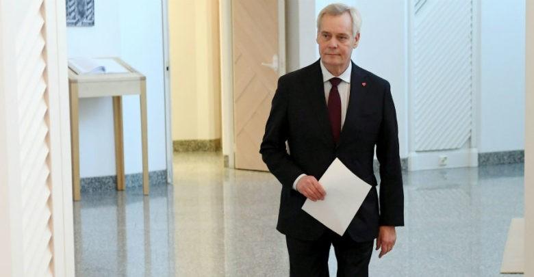 Primer ministro de Finlandia renuncia tras perder respaldo de coalición que lo llevó al poder