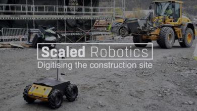 Scaled Robotics mantiene un ojo autónomo en sitios de construcción ocupados