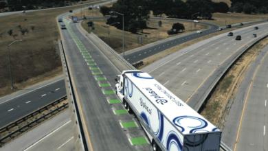 Un camión de carga autónomo condujo por todo el país para entregar mantequilla