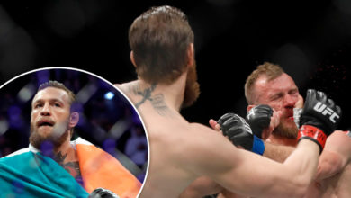 Photo of McGregor derrota a Cerrone en 40 segundos tras contundente patada