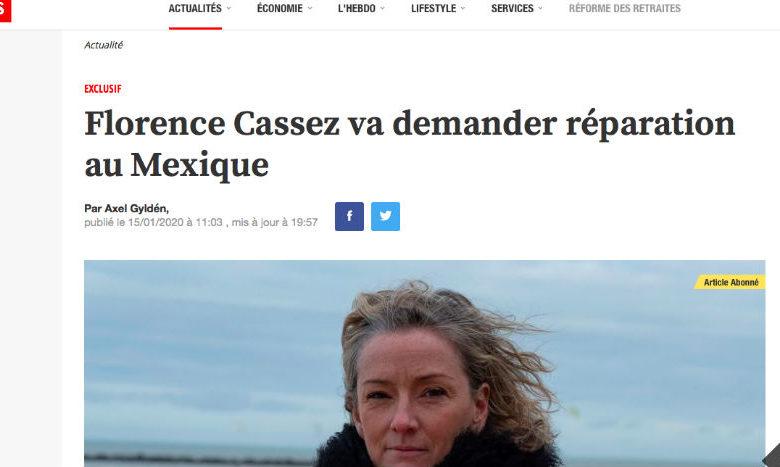 Cassez analiza demandar a Calderón, García Luna y a Loret de Mola 1