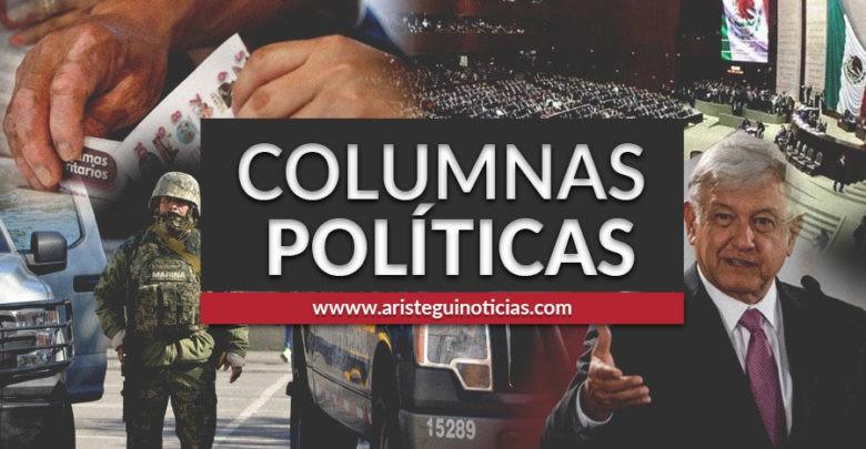 Senado de EU ratifica T-MEC y los 31 autos de lujo del hijo de Napito | Columnas políticas 17/01/2020 1