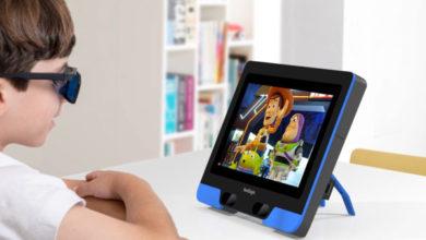 Photo of Los niños con ojo vago pueden ser tratados con solo dejarlos ver televisión en esta pantalla especial