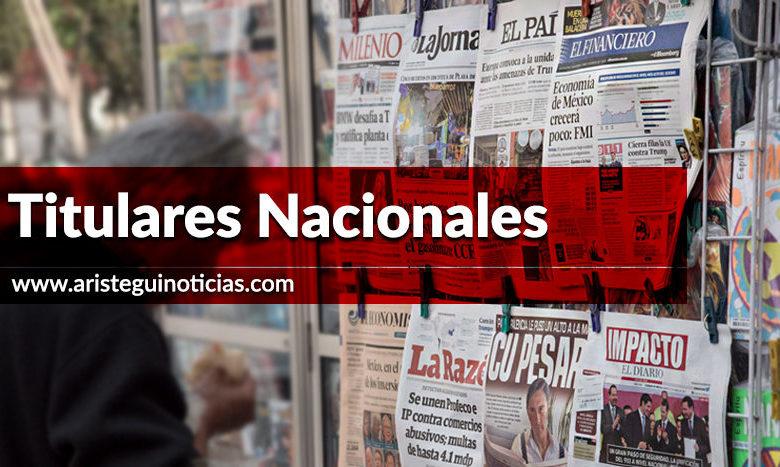 Corrupción en Cruzada Contra el Hambre de EPN y descubren litio en Sonora | Titulares 22/01/2020 1