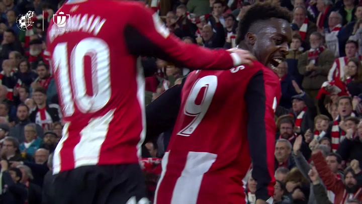Copa Del Rey: Athletic Bilbao - Granada. Gol de Iker Muniain (1-0)