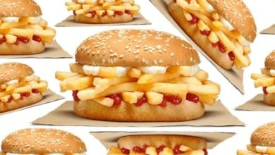 Photo of Burger King está probando un sándwich con nada más que papas fritas