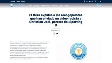 Photo of Christian Joel, meta del Sporting B, denuncia un acto de racismo en Ibiza