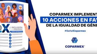 Photo of Coparmex pide erradicar desigualdad de género laboral y económica