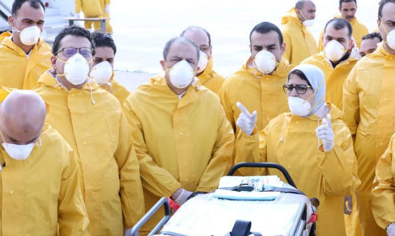 Egipto confirma el primer caso de coronavirus Covid-2019 en África; mil 716 trabajadores de la salud, infectados