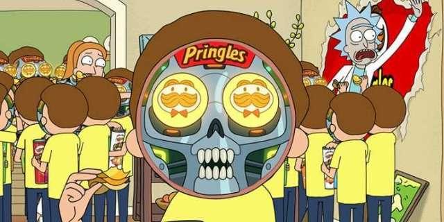 El Anuncio De Rick Morty Pringles Lanza La Cuenta De Twitter De Morty Bot La Neta Neta
