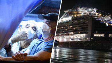 Photo of Evacuados de crucero ya están en EEUU: 14 dan positivo al coronavirus