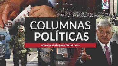 Photo of Movimiento feminista y ¿pena de muerte en México? | Columnas políticas 26/02/2020