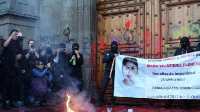 Photo of Nuevo llamado de AMLO a feministas: Entiendo el dolor, pero no se puede enfrentar violencia con violencia