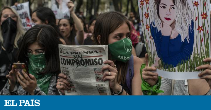 """Una marcha contra la prensa que """"hace espectáculo"""" con los feminicidios en México 1"""