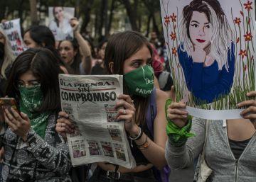 """Una marcha contra la prensa que """"hace espectáculo"""" con los feminicidios en México 2"""