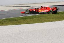 Photo of Vettel inicia la segunda semana de test con un trompo