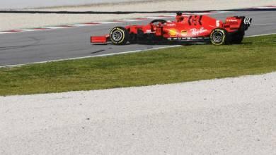 Photo of Vettel inicia la segunda semana de test con un trompo