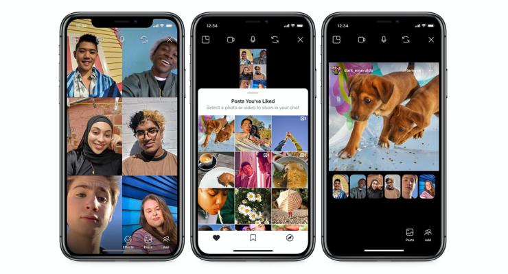 Instagram lanza Co-Watching de publicaciones durante el chat de video