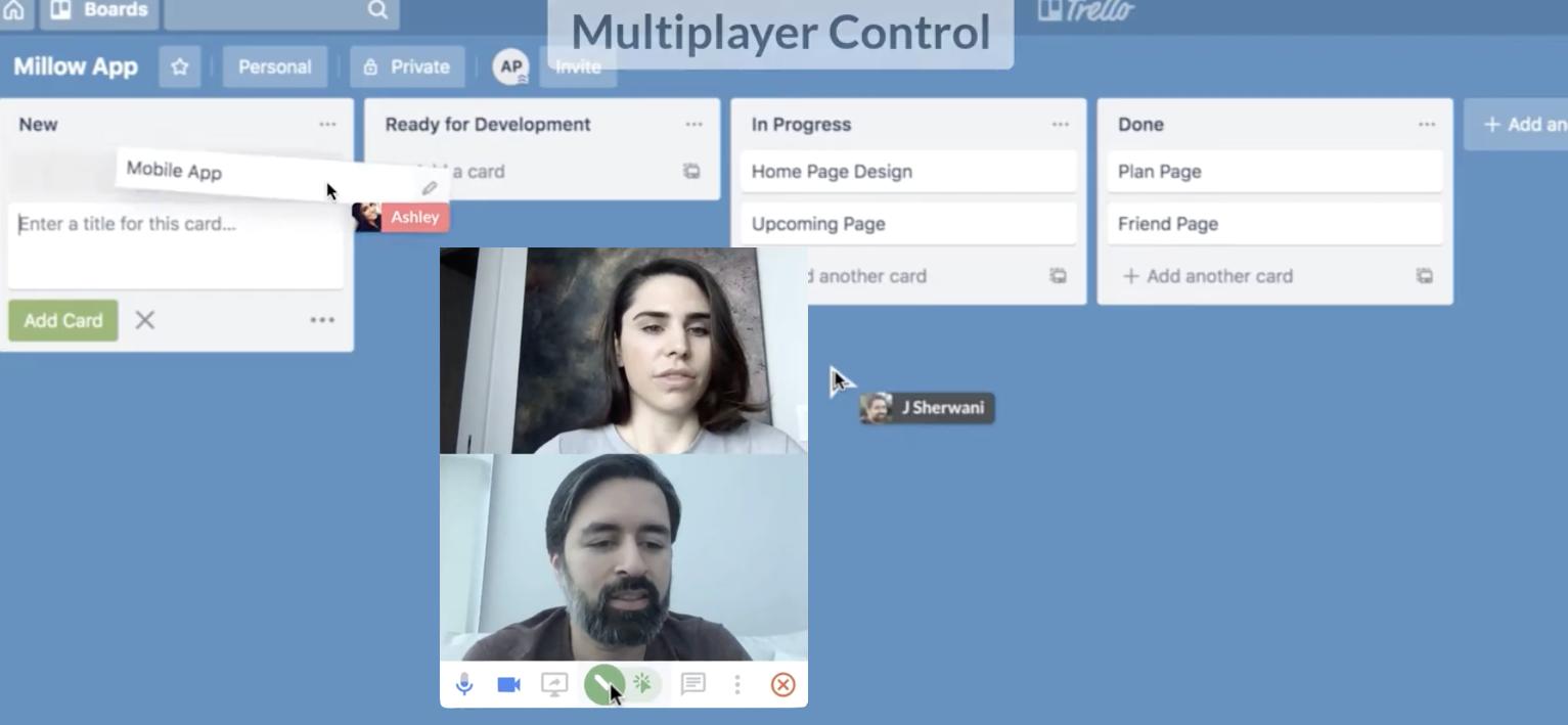 Controle las aplicaciones de los demás con la nueva herramienta de pantalla compartida. 2