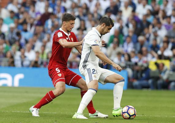 Morata en su segunda etapa en el Real Madrid