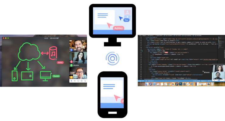Controle las aplicaciones de los demás con la nueva herramienta de pantalla compartida.
