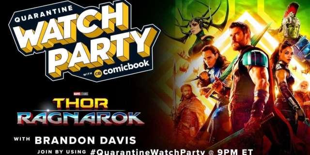 Los mejores tweets de Quarantine Watch Party of Thor: Ragnarok de ComicBook.com 1