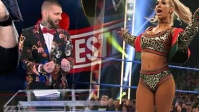 Photo of Corey Graves de la WWE hace una hilarante referencia al drama de Carmella en WrestleMania