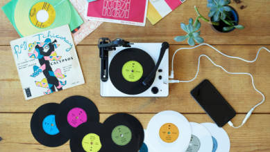 Photo of Este adorable y pequeño fabricante de discos te permite cortar tus propios singles de vinilo de 5 pulgadas