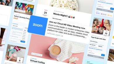 Photo of ZmURL personaliza las vistas previas de enlaces Zoom con imágenes y sitios de eventos