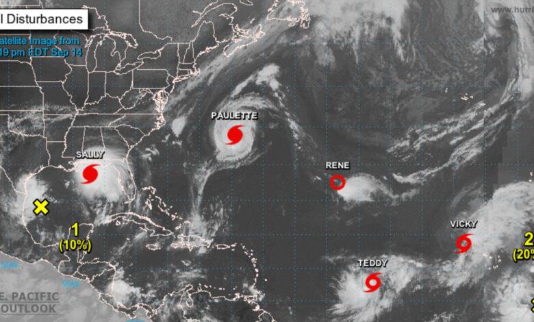 Con tantas tormentas en el Atlántico, se agotan los nombres ¿cómo se llamarán entonces? 1