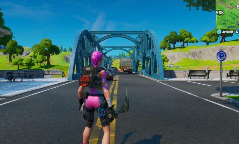 Dónde encontrar puentes de diferentes colores en Fortnite (desafío de la semana 2)