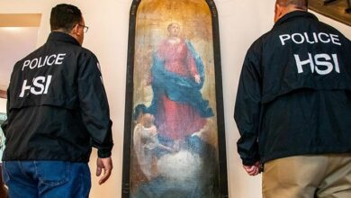 Photo of ICE halla en Dallas antigua pintura robada de un monasterio italiano