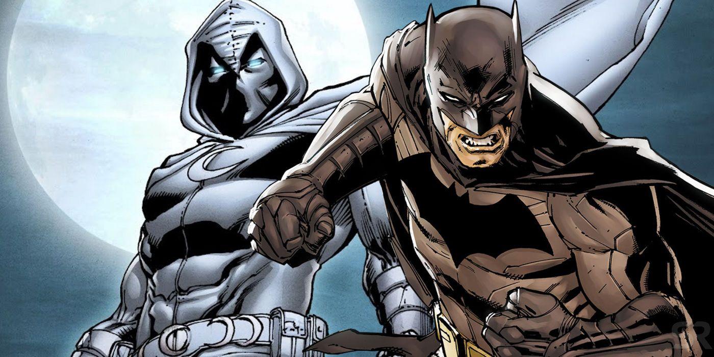 Moon Knight y Batman - GamersRD