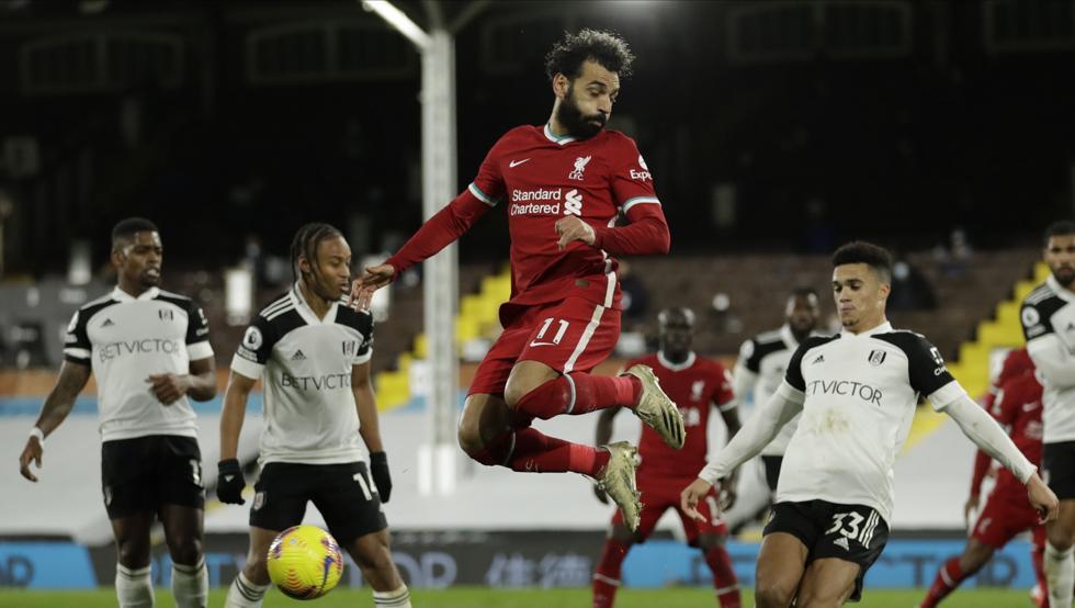 El Fulham impide al Liverpool recibir como líder al Tottenham 6