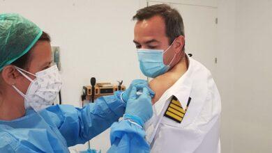 Defensa vacuna de la covid a los militares enviados en misión internacional 21