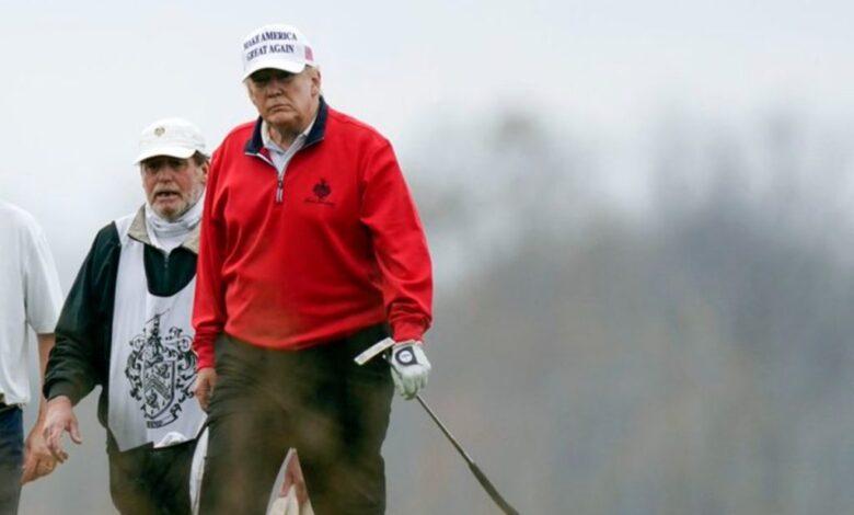 Cancela PGA América torneo en el Trump National Golf Bedminster | Tuit 1