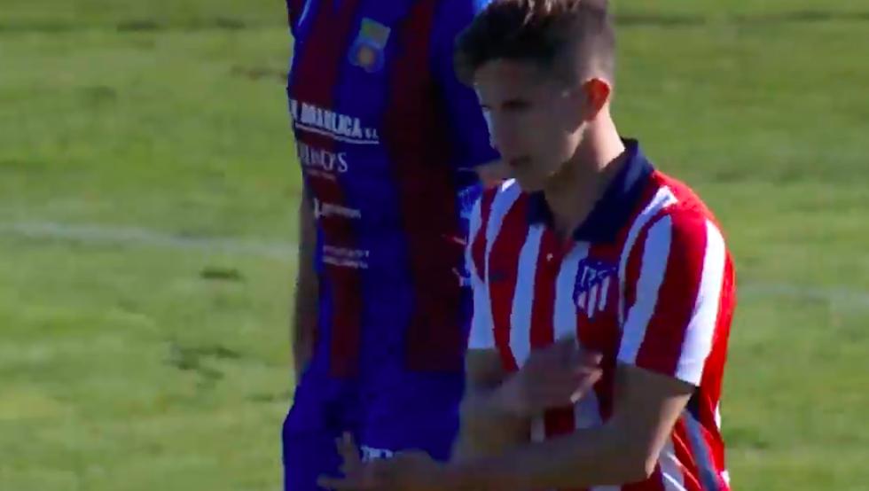 Debut y gol del hijo de Simeone con el Atleti B 50