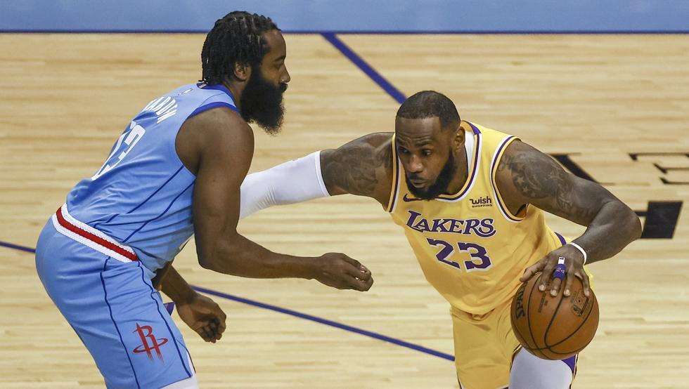 Los Lakers desesperan a Harden y los Rockets 1