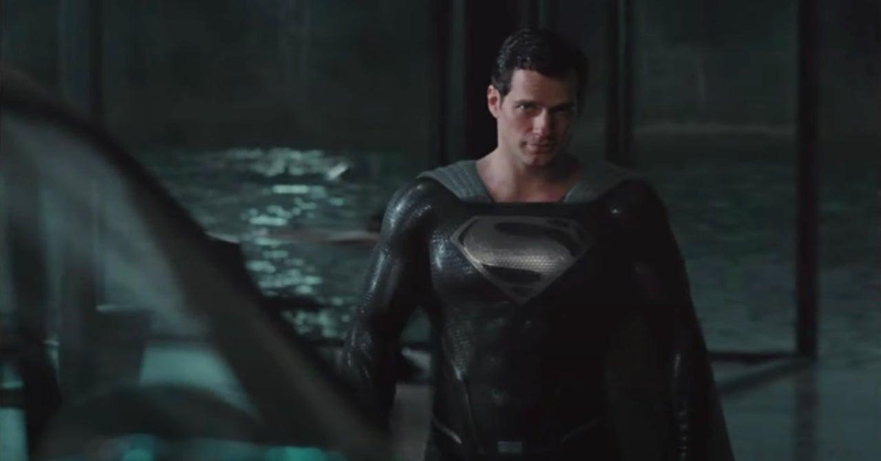 """El clip de Black Suit Superman relanzado en HD - El traje negro de Superman no tiene sentido en la """"Liga de la Justicia de Zack Snyder"""""""