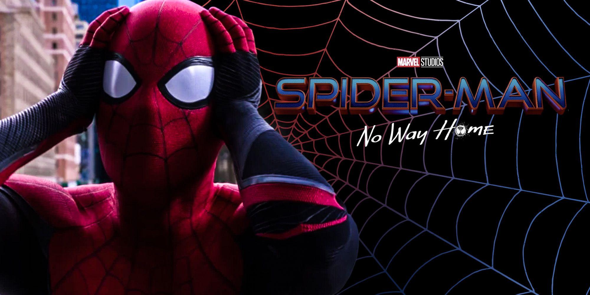 Edit con el logo oficial de Spider-Man: No Way Home.