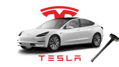 La pantalla de un Tesla se destruyó mientras conducía: esto es lo que sucedió