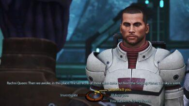 Las elecciones de Mass Effect 4 deberían realmente importar |